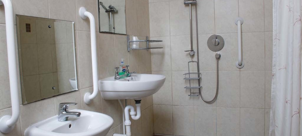 Accessible shower room